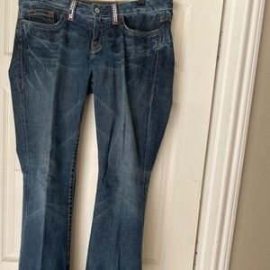 BeBe distressed denim jeans